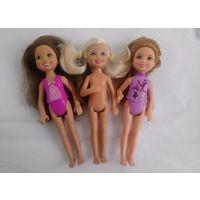 Куклы Маттел Челси 14 см сестры Барби
