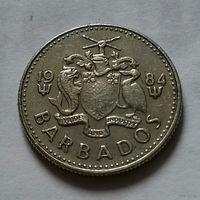 10 центов, Барбадос 1984 г.