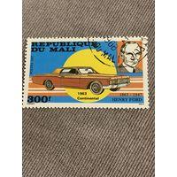 Мали 1987. Lincoln Continental 1963. Марка из серии