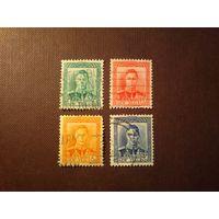Новая Зеландия 1938 г.Георг -VI.