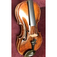 Старинная мастеровая скрипка Udalricus Eberll 18 век