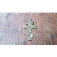 Крест бронзовый старинный