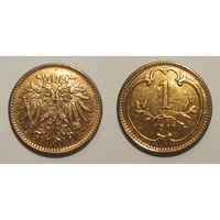 Австрия - геллер 1911