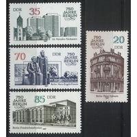 Германия, ГДР 1987 г. Mi#3071-3074** чистая полная серия (MNH)