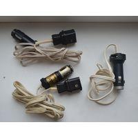 Кабель-переходник для питания электротехники (6-pin) от прикуривателя