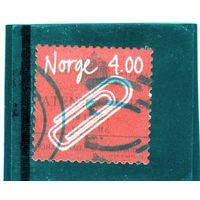 Норвегия.Ми-1300.Скрепка. Серия: Норвежские изобретения. 1999.