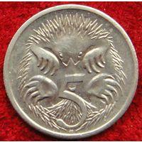 7325:  5 центов 2001 Австралия
