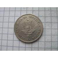 Венесуэла 1 боливар 1977г.