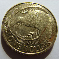 Новая Зеландия 1 доллар 2013 г
