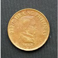 Филиппины 25 сентимо 1990 г.