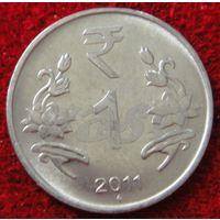 7391:  1 рупия 2011 Индия