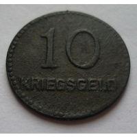 Германия. 10 пфеннигов 1917г. KAISERSLAUTERN
