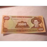 Никарагуа 1000 кордоба 1985