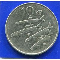 Исландия 10 крон 1994