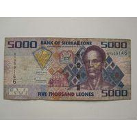 5000 Леоне 2010 (Сьерра-Леоне)