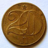 20 геллеров 1989 Чехословакия