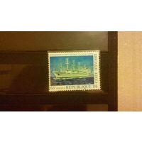 Корабли, флот, транспорт, марка, Кот дИвуар