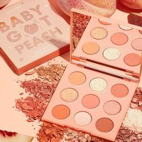 ColourPop baby got peach палетка теней