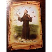 Картина католическая из Италии.