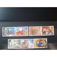 Англия 1994 Персонажи детских книг Михель-10,5 евро гаш