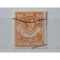 Северная Родезия 1938 г. Король Георг -VI.
