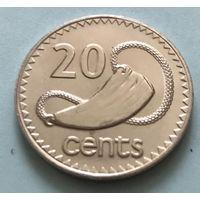 Фиджи 20 центов 1994 года