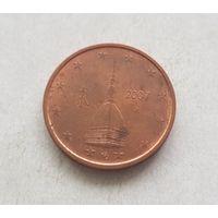 2 евроцента 2007 Италия