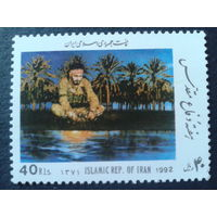 Иран 1992 солдат у реки
