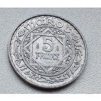 Марокко 5 франков, 1951 6-7-24