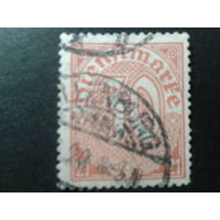 Германия 1920 служебная марка 20