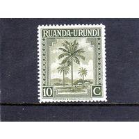 Руанда-Урунди. Ми-80. Масличные пальмы.1942.