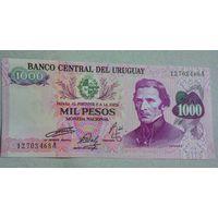 Уругвай 1000 песо unc