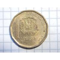 Доминиканская Республика 1 песо 2008