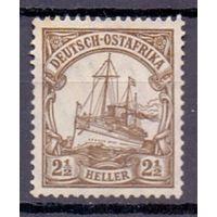 Германия Восточная Африка 2 1/2 гел Wz 1 1919 г