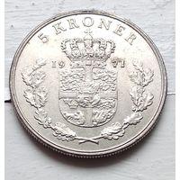 Дания 5 крон, 1971 4-6-22