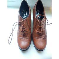 Туфли р 37-38 натуральная кожа