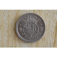 Гвинея-Бисау 2,5 эскудо 1952