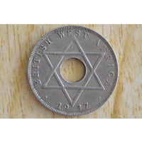 Британская Западная Африка 1/2 пенни 1937Н