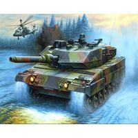 Сборная модель  REVELL ТАНК LEOPARD 2 A5 KWS 1/72,артикул 03105