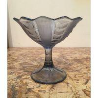 Креманка ( морожница, джемница) из цветного стекла, Неман
