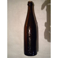Пивная старинная бутылка Польша