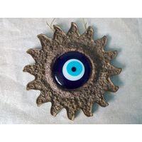 Панно Синий глаз Назар глаз Фатимы амулет талисман от сглаза