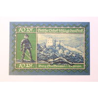 Германия (Notgeld), 10 пфеннигов 1921 год.