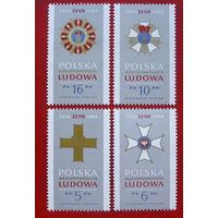 Польша. 40 лет ПНР. ( 4 марки ) 1984 года.