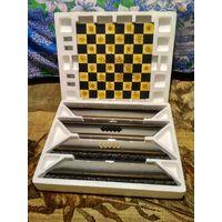 """Сувенирная шахматная доска в коробке (упаковке) """"Властелин колец""""."""