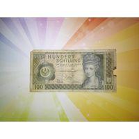Австрия 100 шиллингов 1966-1970гг