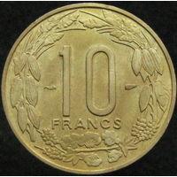 Фр. Экватороиальная Африка Камерун 10 франков 1958 (а)