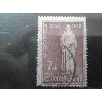 Финляндия 1948 400 лет книгопечатнику Агриколе