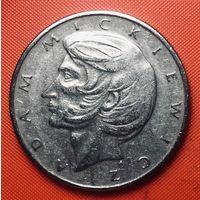 26-24 Польша, 10 злотых 1976 г. (Адам Мицкевич)