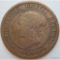 8. Канада 1 цент  1876 год снижение цены*